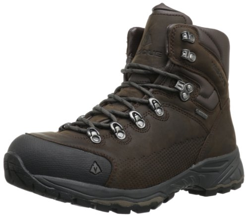 Vasque Men's St. Elias Gore-Tex Backpacking Boot, Slate Brown/Beluga,11 M US - Asolo Fugitive Gtx