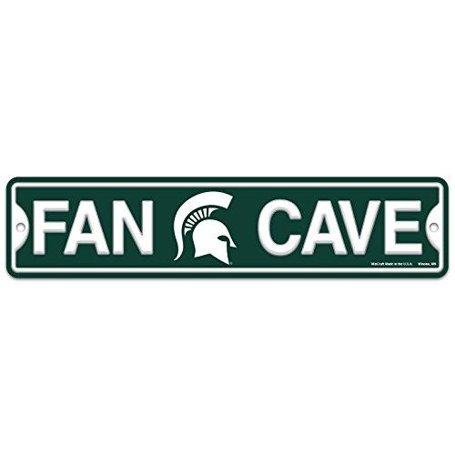 - Wincraft Michigan State Spartan Plastic Fan Cave Sign 4