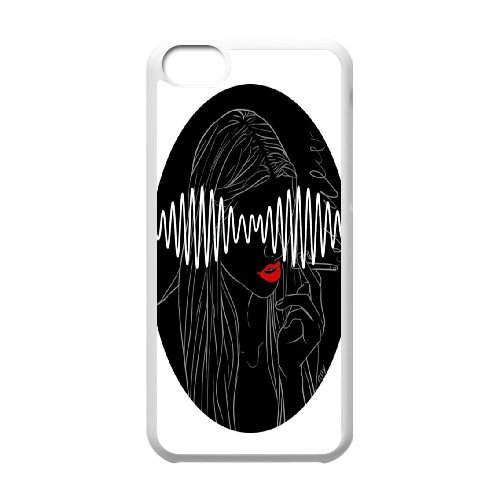 High quality Arctic Monkey logo, Rock band music,Arctic Monkey band protective case cover For Iphone 5c QH596718386