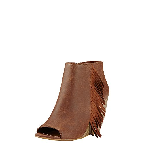 Ariat Womens Unbridled Jaycee New West 9 B Rich Cognac