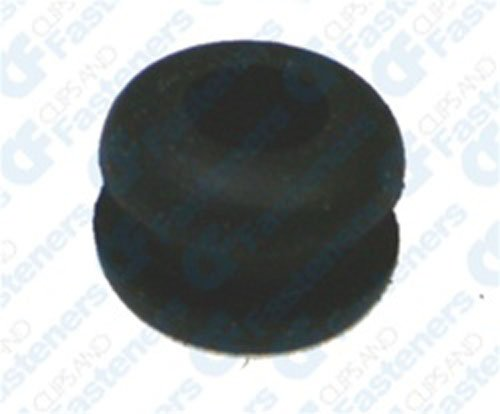 25 3/32' Rubber Grommets 3/16' Bore Diameter 3/8' O.D. Clipsandfasteners Inc