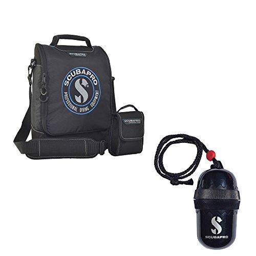 (Scubapro Regulator Tech Dive Bag (Reg Plus) Divers Egg Dry-Box w/String Black)