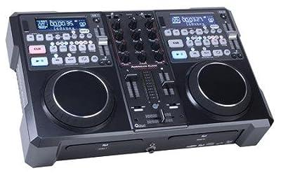 Dual Table Top CD / MP3 Player / Mixer / Midi Controller With Headphones