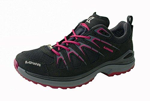 Lowa Innox EVO GTX Lo W Zapatos multifunción Schwarz/Beere