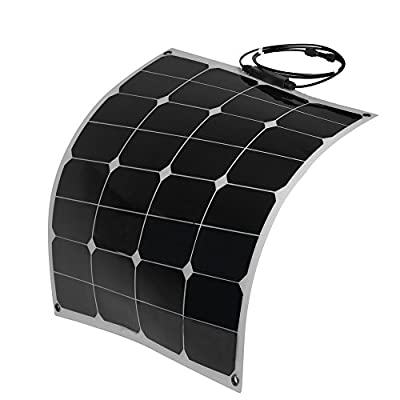 Best Cheap Deal for 50W 18V 12V Bendable Semi Flexible Solar Panel Charger with MC4 Connector for RV Boat Cabin Tent from Generic - Free 2 Day Shipping Available