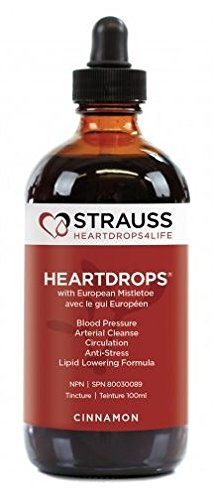 Strauss Heartdrops (Cinnamon, 3.4 fl. oz. | 100 ml) by Strauss Naturals by Strauss HeartDrops