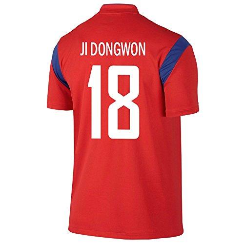 に渡ってなしで読み書きのできないNike JI Dongwon #18 Korea Home Soccer Jersey 2014/サッカーユニフォーム 韓国 ホーム用 チ?ドンウォン 背番号18 2014