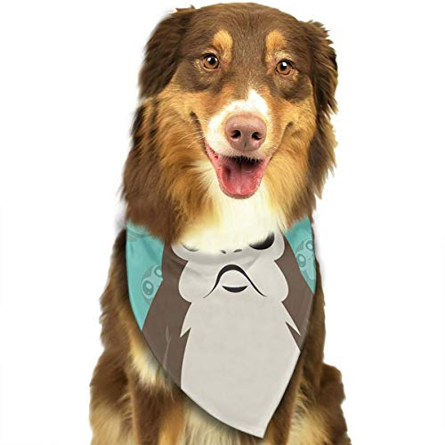 Address Verb Dog Bandana Pet Scarf Walrus Cute Triangle Bibs Baby Puppy Cat Kitten
