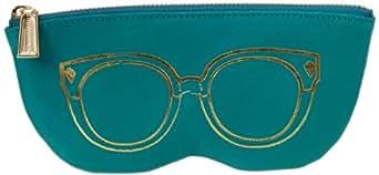 Rebecca Minkoff Sunglass Pouch S004I001 Cosmetic Case,Azure,One Size