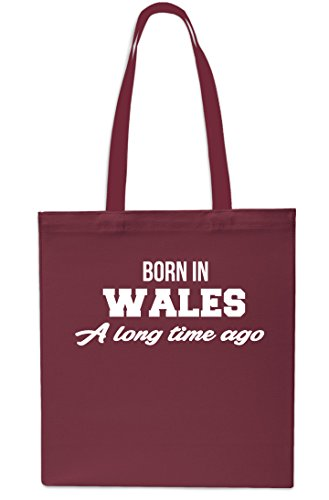 In Bag 42cm Small Time Red x38cm Long Maroon litres 10 Shopping Tote A Gym Beach Wales Born Ago Rxd4qFFg