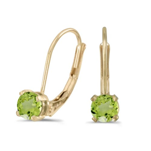 4mm Peridot Satin - 8