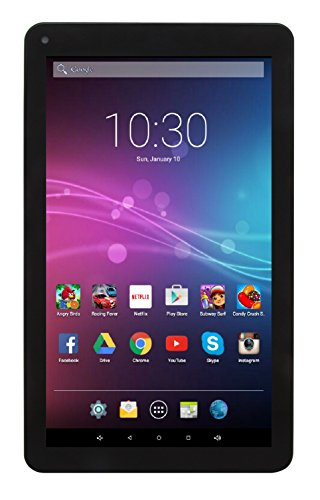 "Astro Tab A935 – 9"" Quad Core Android 6.0 Marshmallow Tablet PC with 1GB RAM, 8GB Storage, Bluetooth 4.0, 1024x600 9 inch screen, Google Play (Black) by Astro Tab"