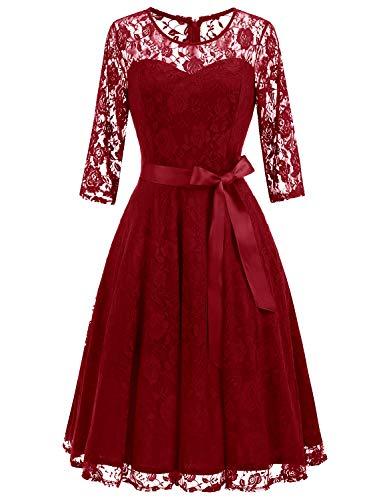 Elegant Lace Dresses - 5