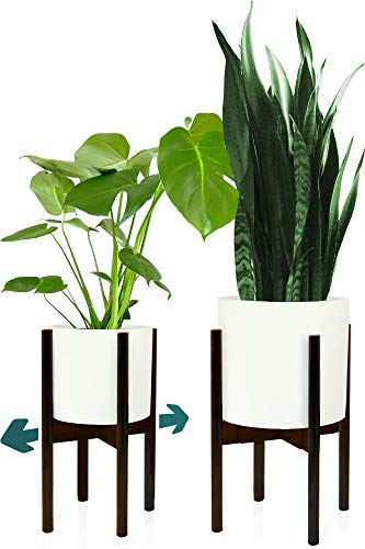 Fox & Fern Plant Stand for Indoor - Adjustable Width 8