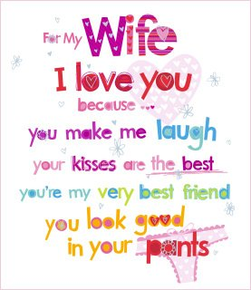 Amazon uk greetings wife birthday card i love you kitchen uk greetings wife birthday card i love you m4hsunfo