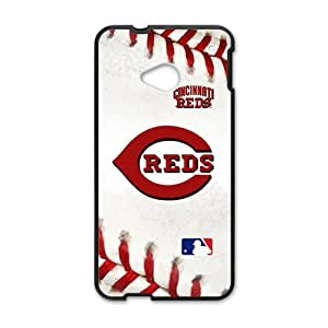 Happy baseball reds Phone Case for HTC One M7