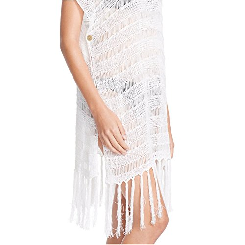Robe de Plage Femme Été XAGOO Sexy Lace Cache Bikini Maillot de bain (Style 4)