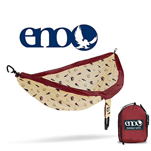 Eagles Nest Outfitters - ENO DoubleNest Print, Portable Hammock for Two, Coastal