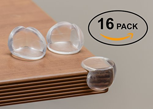 Terrific Brands Veteran Owned PREMIUM 3M 16-Pack Baby Corner Guards. Quality Baby Proofing Around The House With Clear Corner Guarders! - 2 Door Painted Armoire