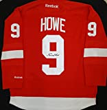 Gordie Howe Autographed Red Replica Red Wings Jersey