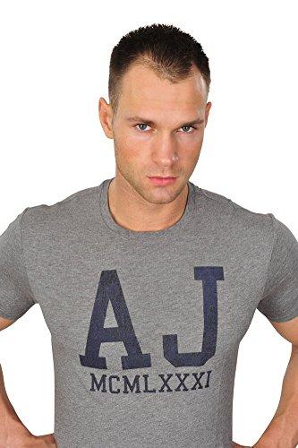 Armani Jeans Tshirt Logo Grau XL