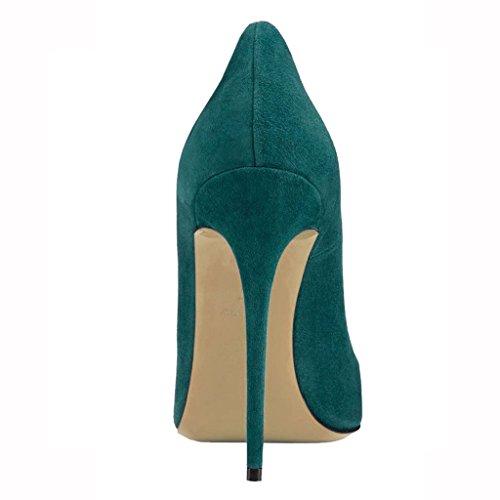 Pour Femmes Eks Talons À Chaussures Dunkelgr¨¹n qfBgStxBW