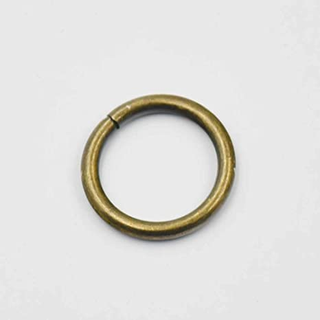 10 19 25 38mm D Dee Ring Non Welded Buckles For Ribbon Nylon Belt Webbing Bag