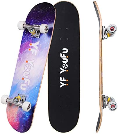 YF YOUFU Complete Skateboard