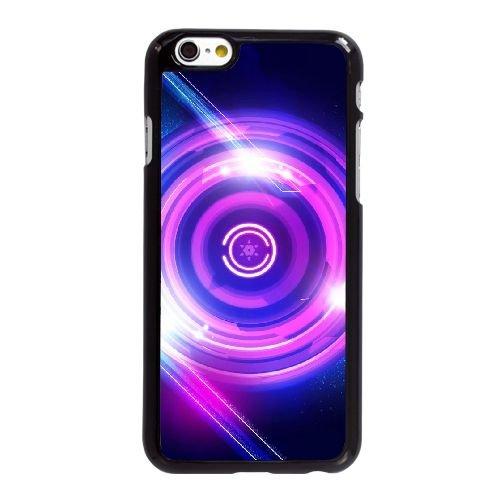 F7E32 bouton d'alimentation abstraite W0G7ZT coque iPhone 6 4.7 pouces cas de couverture de téléphone portable de coque RY7XYV1YS noirs