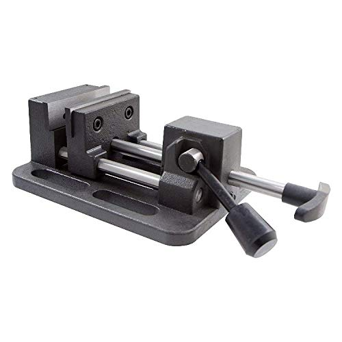 HHIP 3900-0183 Pro-Series High Grade Iron Quick Slide Drill Press Vise, 3