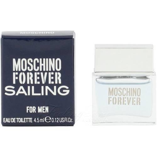 Moschino Forever Sailing Mini Eau de Toilette Splash for Men, 0.12 Ounce