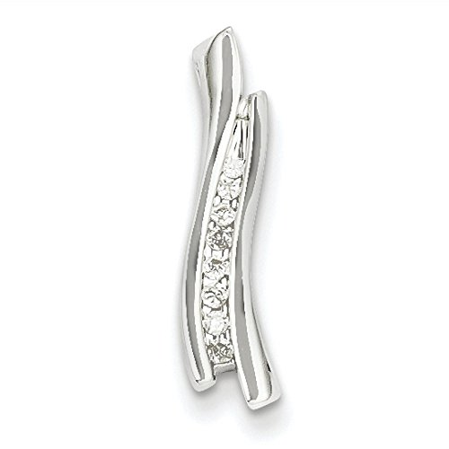 Or blanc 14 carats-Diamant JewelryWeb bruts