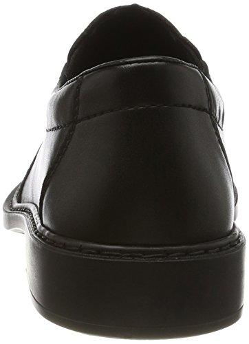 Rieker B0872, Mocasines para Hombre Negro (nero/schwarz / 02)