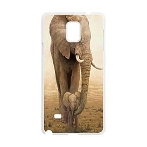 YAYADE Phone Case Of cut cartoon Elephant For Samsung Galaxy Note 4