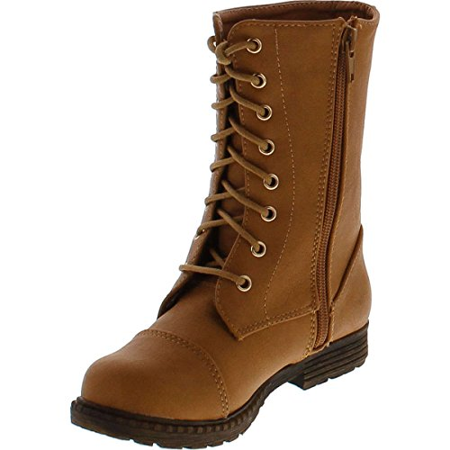 Lucky Top Lash 1 Girls Military Combat Boots