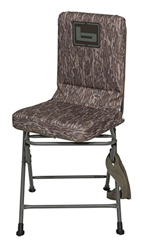 Banded B08709 Swivel Blind Chair Tall Bottomland Hunting Gear by Banded