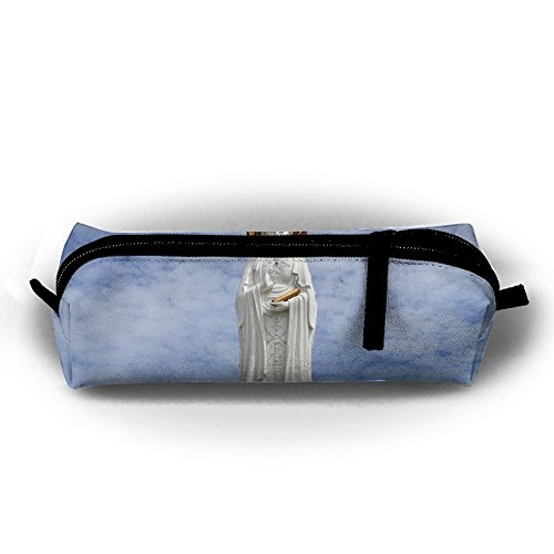 - Rfhbjthir Statue Monument China Unisex Pen Bag Zipper Cosmetic Bags Cylindrical Purse