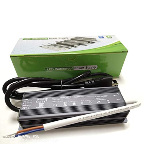 CATIYA 24V 100W LED Driver Transformer, IP67 Waterproof Constant Voltage Power Supply for LED Landscape Lighting