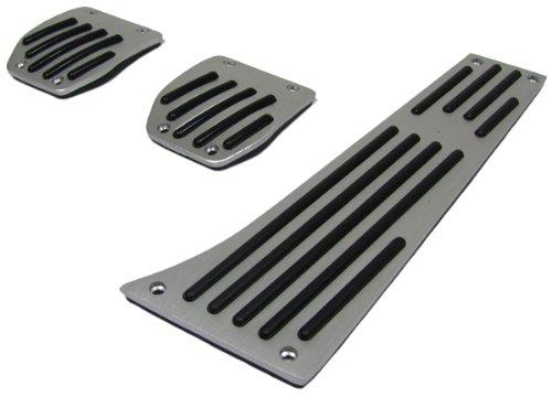 Aluminio Pedales Set para cambios carro