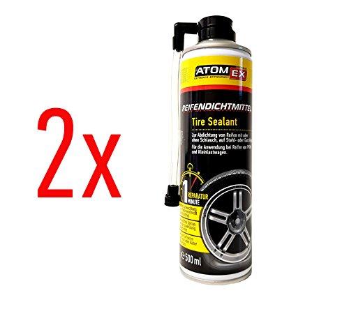 Atomex, XADO - Sigillante liquido per gomme antiforatura 1 (etichetta in lingua italiana non garantita),di grande aiuto in caso di foratura