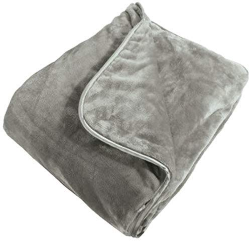 (Brookstone Nap Weighted Blanket, One Size, Grey)