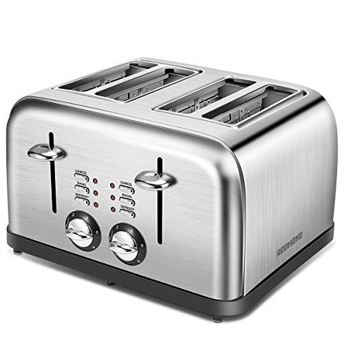 cream dualit 4 slice toaster - 5