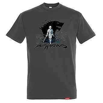 Camiseta Arya - Juego de Tronos - Color Gris Oscuro - 100% Algodón ...