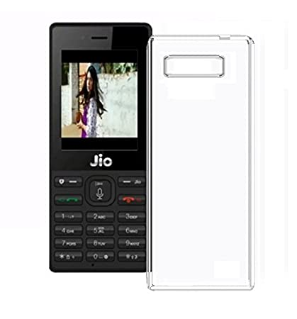 new product 53c91 fa727 Azzil Jio Phone F2403 Back Cover, Premium Real Perfect: Amazon.in ...