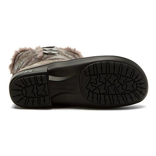 Alegria Vrouwen Nanook Boot Flint Fuzzy