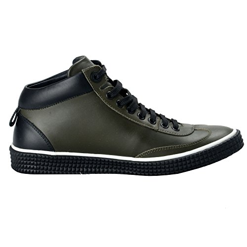 Leather Top Forest Varley Choo Jimmy Forest Green Men's Sneakers Hi green Fashion Shoes 0apt0q