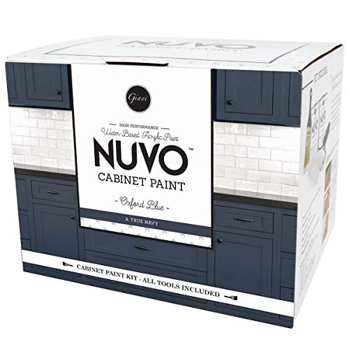 - Nuvo Oxford Blue 1 Day Cabinet Makeover Kit