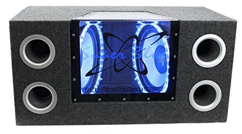 "Pyramid BNPS122 12""1200W Audio Subwoofer + Amp +Wiring Kit"