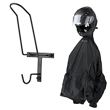 Perchero de pared para chaqueta y casco de moto: Amazon.es ...