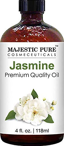 Majestic Pure Jasmine Fragrance Oil, Premium Quality, 4 fl. oz.